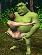 Shrek bangs princess